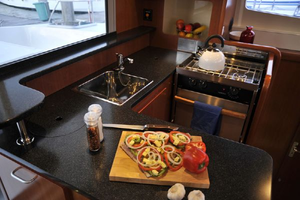 Moorings 3900 Galley