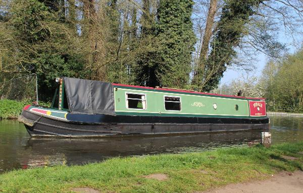 Narrowboat 45' Mike Haywood Trad