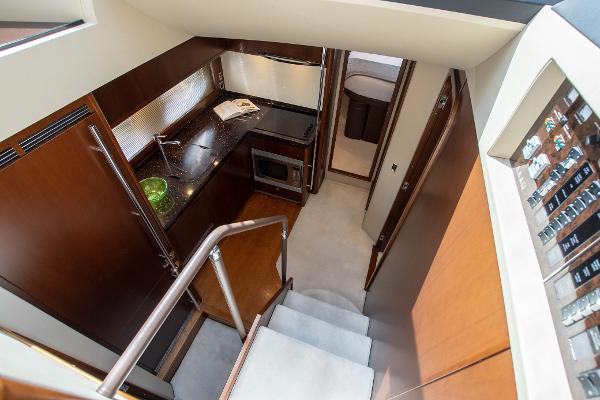 Princess 54 - Stairs to Lower Deck