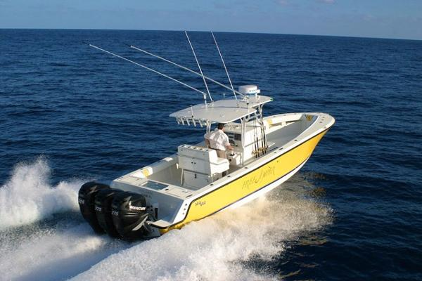Sea Vee 34 Center Console Open