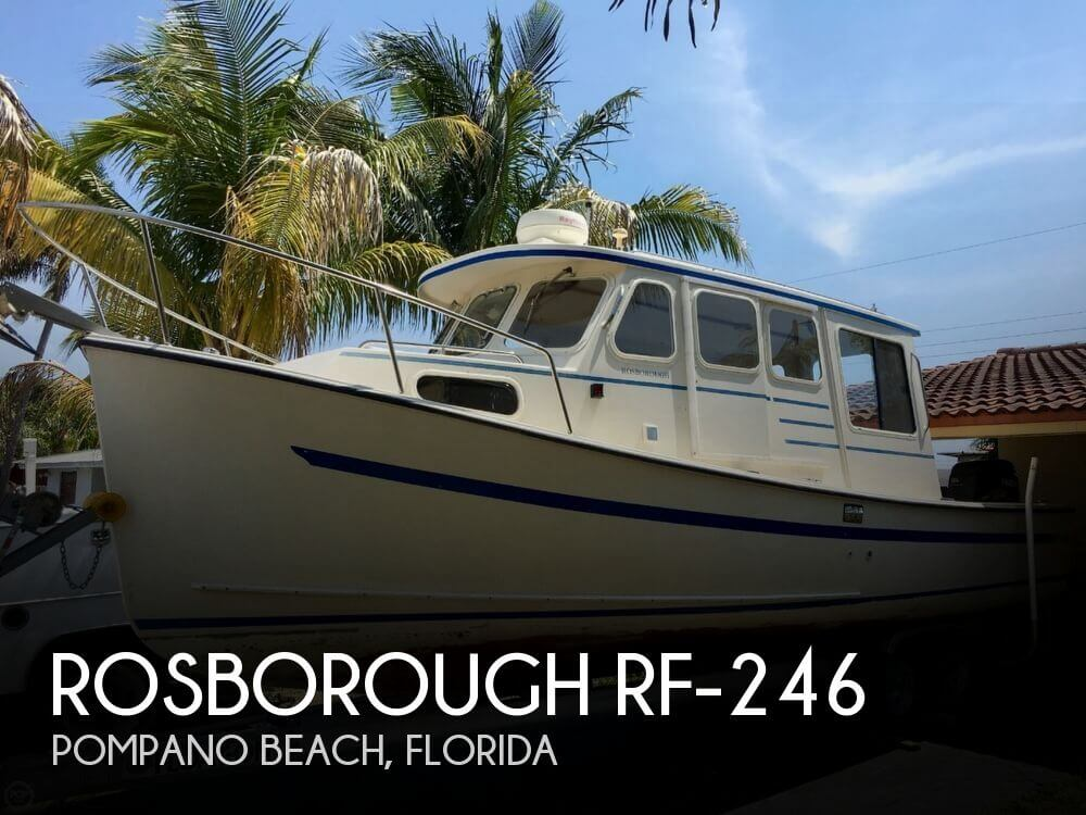 Rosborough Rf-246 2001 Rosborough RF-246 for sale in Pompano Beach, FL
