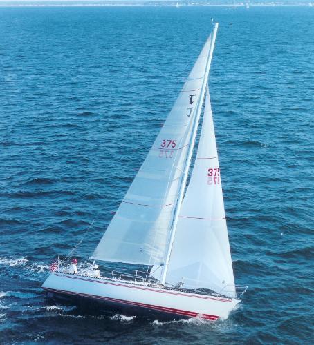 Tartan Ten Starboard tack