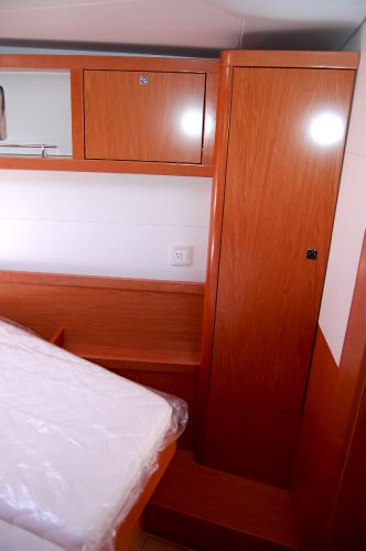 Sense 50's Forward Cabin Storage(sistership)