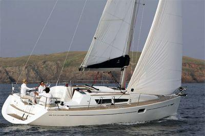 Jeanneau Sun Odyssey 36i Manufacturer Provided Image: Sun Odyssey 36i