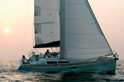 Jeanneau Sun Odyssey 36i Manufacturer Provided Image: Under Sail