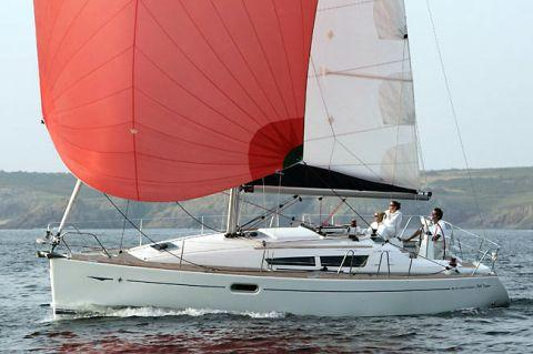 Jeanneau Sun Odyssey 36i Manufacturer Provided Image: Under Spinnaker