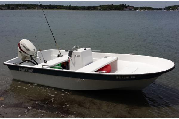 Maritime 1480 Sport Skiff Manufacturer Provided Image