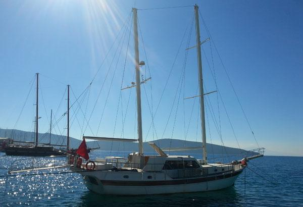 BODRUM Transom Stern Gulet 18 m Completely refitted Ketch