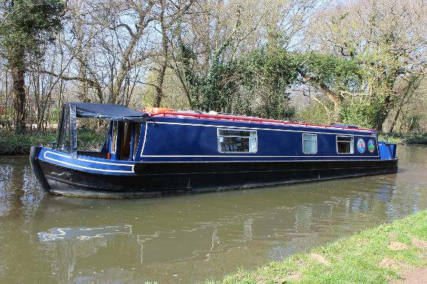 Narrowboat 42' Cruiser Stern