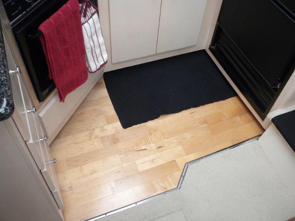Galley Hardwood floor