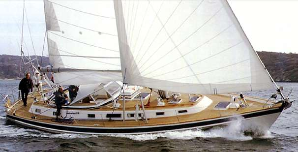 Hallberg-Rassy 53 Manufacturer Provided Image