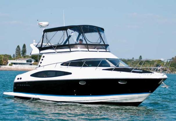 Regal 4080 Sportyacht Manufacturer Provided Image