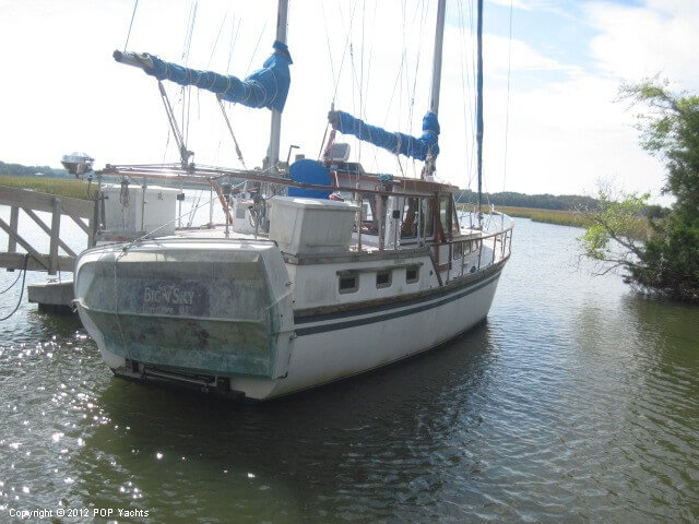 Sea Finn 411 Motorsailer 1984 Sea Finn 411 Motorsailer for sale in Green Cove Springs, FL