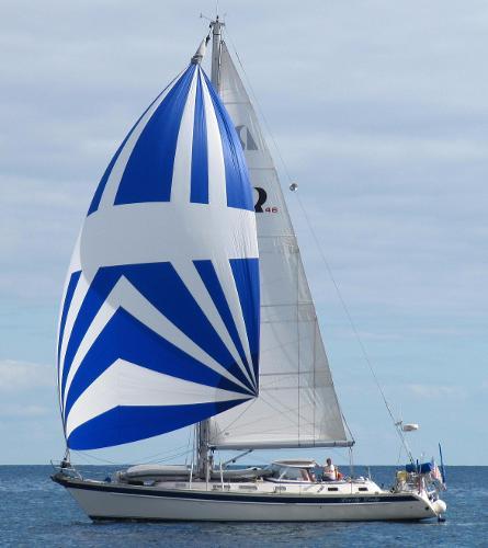 Hallberg-Rassy 46 Sailing