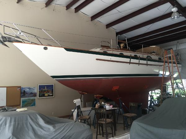 Pacific Seacraft 37 Stored Indoors at Owner's Home