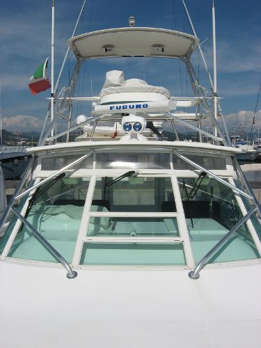 Cabo 35 Express Tuna Tower