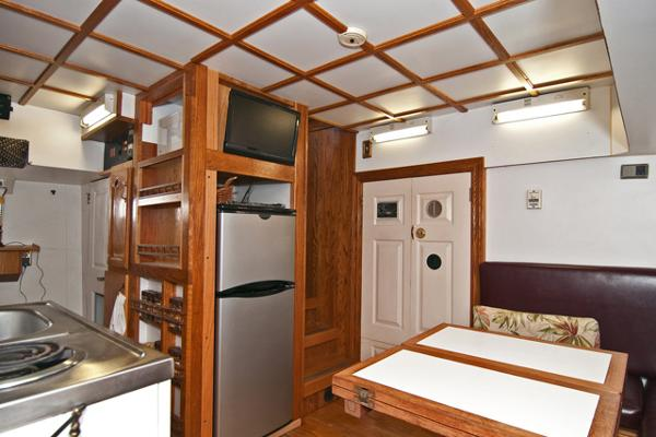 Galley Aft View Starboard