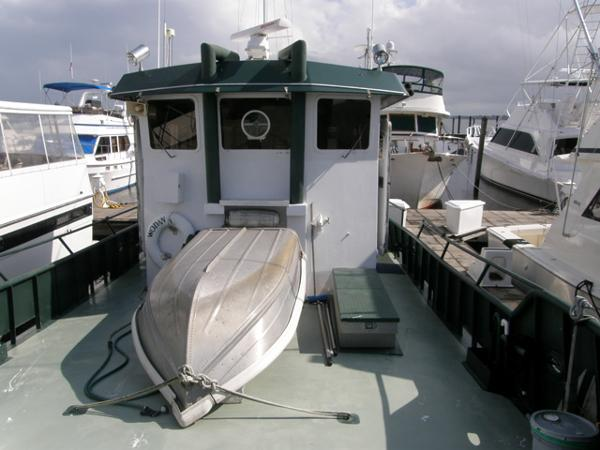 Forward Deck Aft View