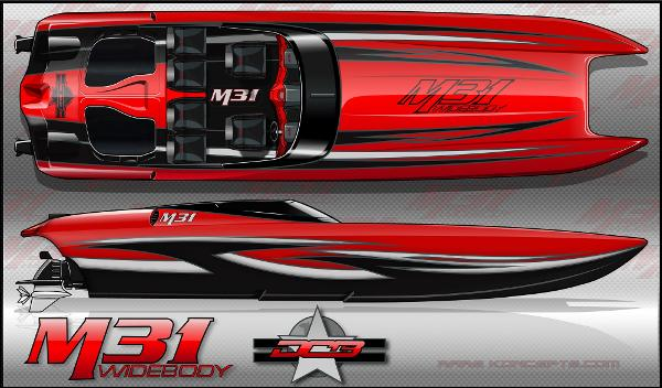 Daves Custom Boats M 31