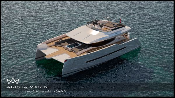 The 18m Power Catamaran from Arista marine