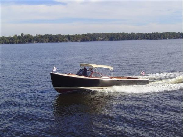 Huckins Custom Runabout