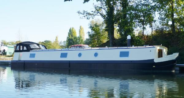 Wide Beam Narrowboat Burscough 62' x 12'