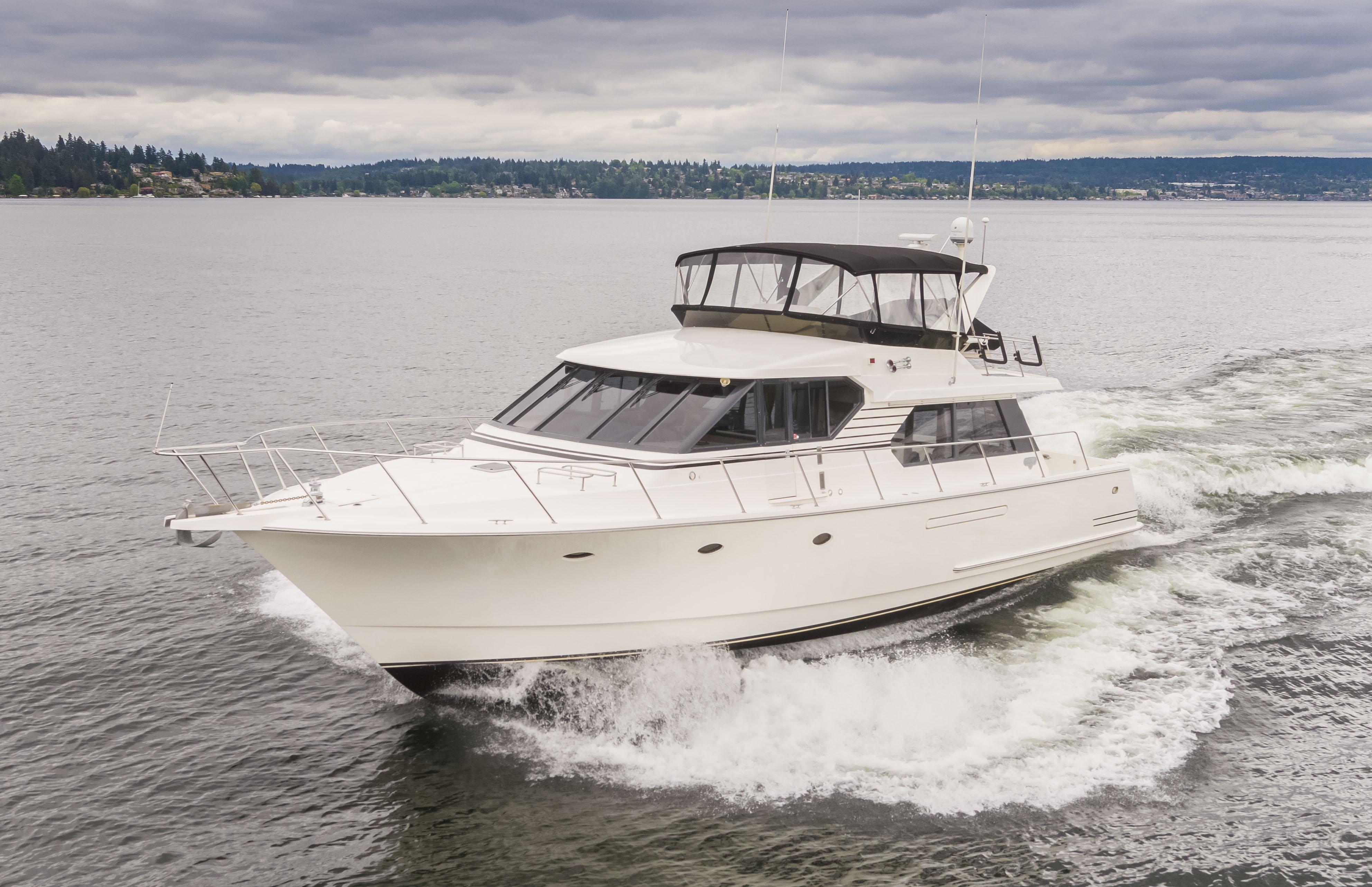 West Bay 58 Pilothouse Motor Yacht Dock Holiday
