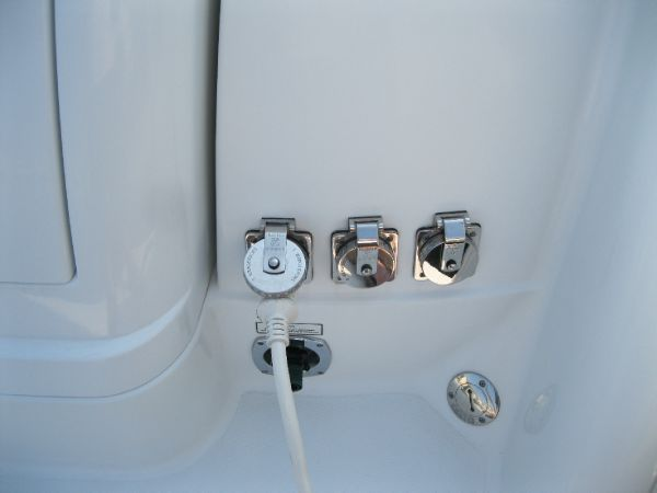 shore power and outlets