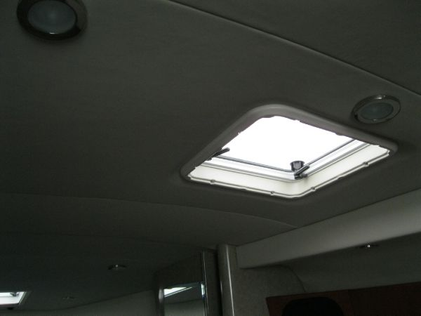 sun lights throughout cabin