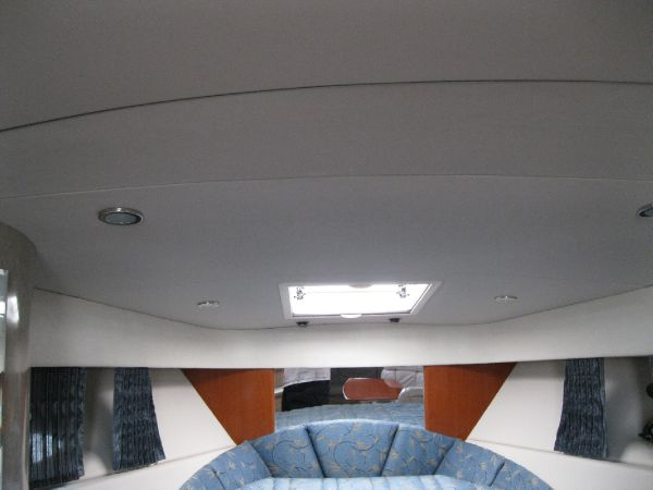 recessed lighting throughout cabin