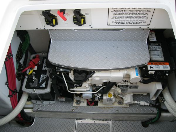 hatch with water heater and generator