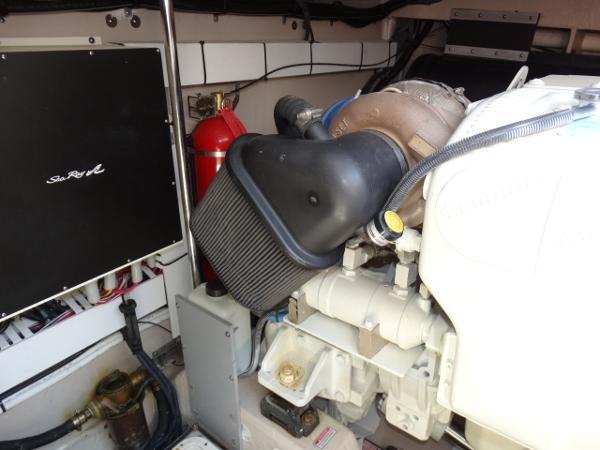 Stbd engine fwrd