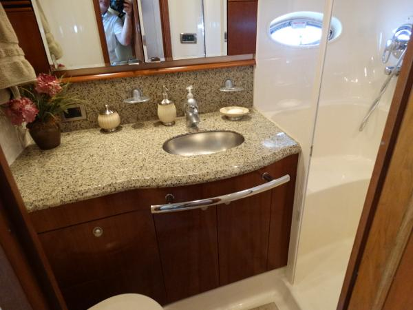 Owners vanity/shower
