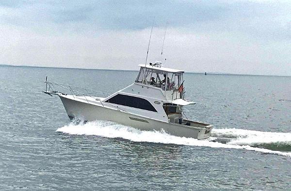 Ocean Yachts 38 Super Sport Profile - Running