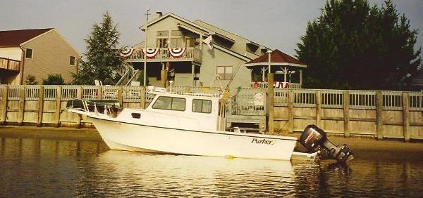 Parker 25 Extended Cabin