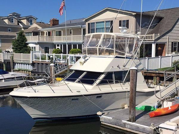 Hatteras 36 Sport Fisherman Profile