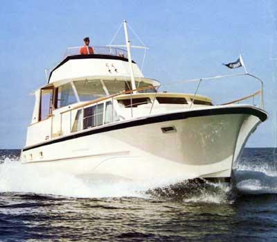 Hatteras 48 Yacht Fisherman