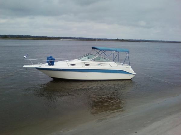 Sea Ray 270 Sundancer Profile At Anchor