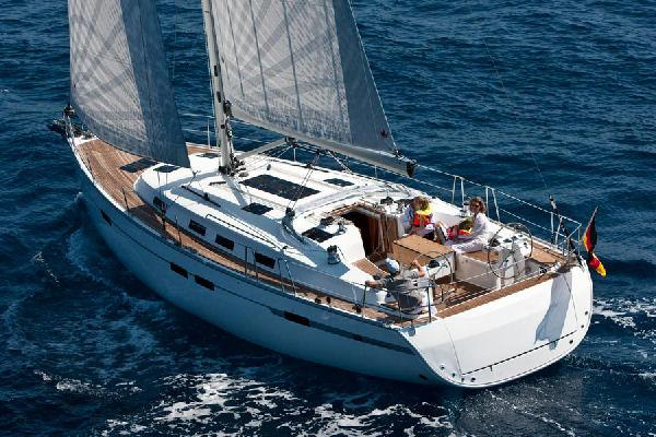 Bavaria Cruiser 45 Manufacturer Provided Image:  Bavaria Cruiser 45 Stern