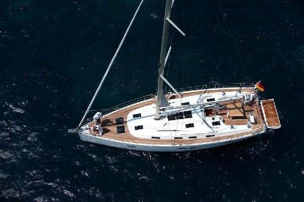 Bavaria Cruiser 45 Aerial View