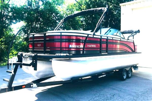 Harris FloteBote Solstice 250 DC Dual Console