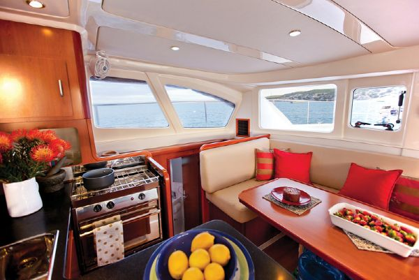 Moorings 393 PC Galley