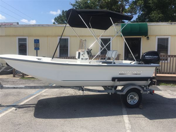 Outcast Skiffs 15 DF