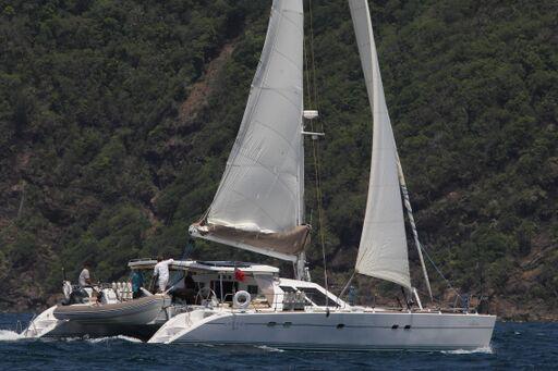 Lagoon 57 Ad Astra - Sailing