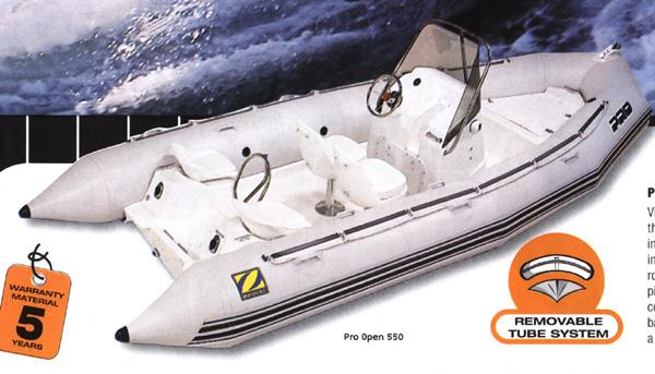 Zodiac Pro Open  650 Manufacturer Provided Image: Similar boat shown: Zodiac Pro Open 550.
