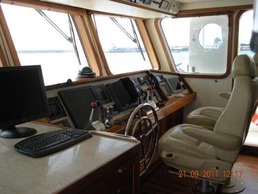 Pilothouse Helm Seating