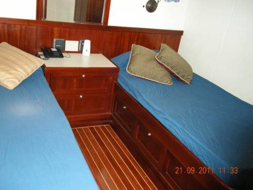 (2) Twin Guest Staterooms Aft