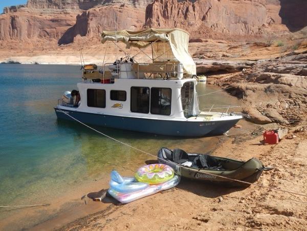 Adventure Craft Deck Yacht