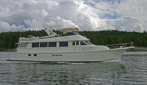 Hatteras 74 Sport Deck Motor Yacht 74 Hatteras