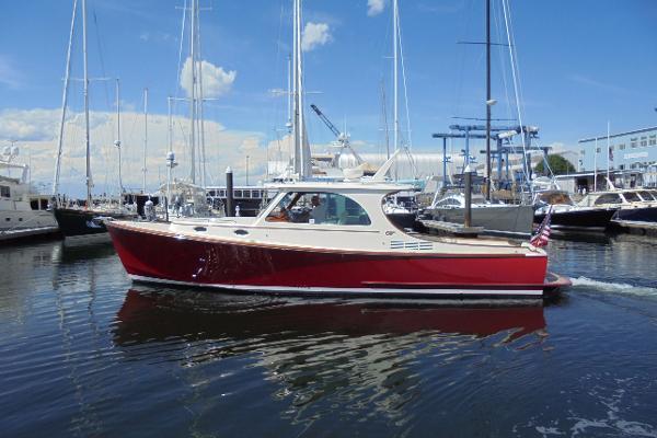 Hinckley Picnic Boat MKIII Rhode Island Red